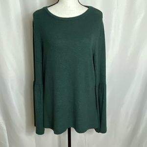 Bobeau bell sleeve sweater